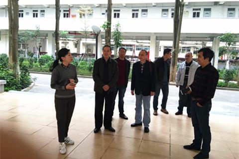 株洲市教育局领导调研参观厦门六中生涯规划教育