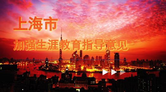 上海市教育委员会关于加强中小学生涯教育的指导意见.png