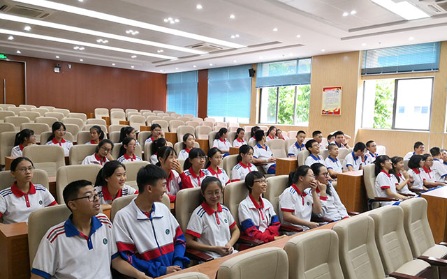 福建省同安第一中学第二届直升班生涯职业体验营开幕仪式举行1.jpg