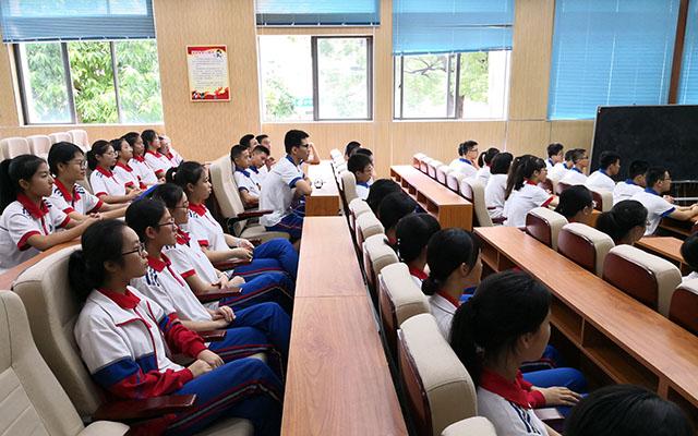 福建省同安第一中学第二届直升班生涯职业体验营开幕仪式举行3.jpg
