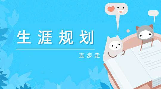 生涯规划五步走——51选校生涯规划教育平台_副本.png