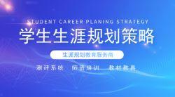 学生生涯规划主要策略