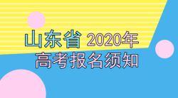 2020年山东省高考报名时间及须知——51选校生涯规划教育网